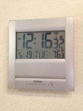 Sky Scan Digital Clock