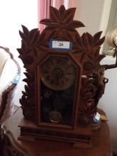 Intricate Wood Pendulum Clock