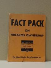 FACT PACK ON FIREARMS OWNERSHIP, National  Shooting Sports Foundation, Inc., 1968.