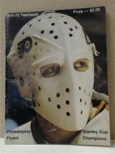 1974-75 PHILADELPHIA FLYERS YEARBOOK, 2nd Cup  Year.