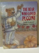 CChildren's Books:  4 Volumes:  MAGIC  WINDOWS, An antique revolving picture book by  Ernest Nister; POP-IN THE BUNNY, An Action  Book; THE BEAR WHO LOVED PUCCINI, Arnold  Sundgaard, Dominic Catalano; ALPHABEARS, An
