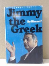 JIMMY THE GREEK by Himself-VINTAGE 1975 HARDCOVER; GAMBLING