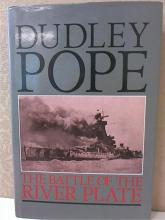 THE BATTLE OF THE RIVER PLATE Dudley Pope - HARDCOVER, DUSTJACKET