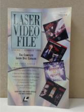 LASER VIDEO FILE SPRING/SUMMER 1994 - LASER DISC CATALOG - MOVIE - MUSIC