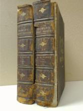 PICTORIAL HISTORY OF THE WORLD'S GREAT  NATIONS, 2 Volumes.  Charlotte M. Yonge,  exterior condition is poor, boards detached,  spine loose, but interior is clean and tight,  no foxing.  THE VALUE OF THIS SET, however,