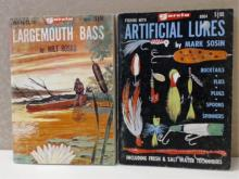 GARCIA - LOT OF 2 - LARGEMOUTH BASS - ARTIFICIAL LURES - VINTAGE 1968 & 1969