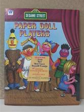SESAME STREET PAPER DOLL PLAYERS - 1976