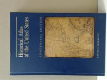 NATIONAL GEOGRAPHIC HISTORICAL ATLAS OF THE UNITED STATES - 1988 - 289pp.