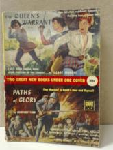 THE QUEEN'S WARRANT / PATHS OF GLORY Vintage paperback, two books in one.