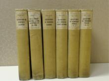 SMOLLETT:  Six Volumes Antiquarian Books.