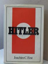 HITLER - Joachim C. Fest - HC/DJ - 1974 - ILLUSTRATED - 844pp.