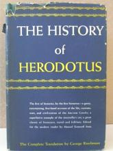 THE HISTORY OF HERODOTUS - George Rawlinson - COMPLETE TRANSLATION-HC/DJ