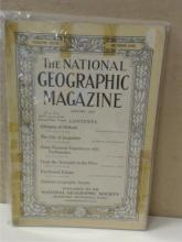VINTAGE NATIONAL GEOGRAPHIC MAGAZINES - 1915 - FOUR VOLUMES