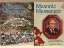 LOT OF 2 - MASONIC MESSENGER - 2005 - GRAND LODGE OF GEORGIA