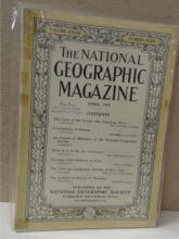 VINTAGE NATIONAL GEOGRAPHIC 1915 ISSUE; THREE 1918 ISSUES