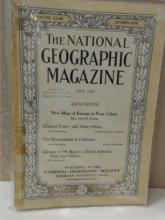VINTAGE NATIONAL GEOGRAPHIC MAGAZINES 1915 & 1917