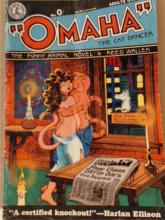 OMAHA THE CAT DANCER - THE 44 PAGE ADULT - KITCHEN SINK COMIX - 1981