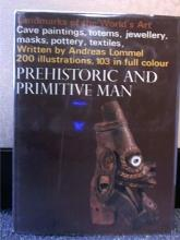 PREHISTORIC AND PRIMITIVE MAN - Andreas Lommel - VINTAGE 1966 - 200+ ILLUS.