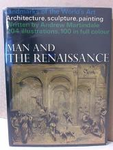 MAN AND THE RENAISSANCE - Andrew Martindale - VINTAGE 1966 - HC/DJ