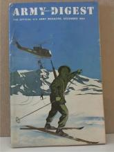 ARMY INFORMATION DIGEST - December 1964- OFFICIAL U.S. ARMY MAGAZINE -SOFTCOVER