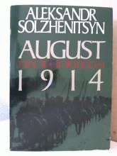 AUGUST 1914 - THE RED WHEEL - Aleksandr Solzhenitsyn - SOFTCOVER - 846pp.