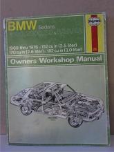 BMW SEDANS 2500, 2800, 3.0 & BAVARIA - 1969 - 1976 - OWNERS WORKSHOP MANUAL