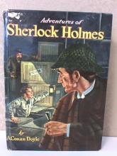 ADVENTURES OF SHERLOCK HOLMES - 1955 - WHITMAN - by A.Conan Doyle - HC