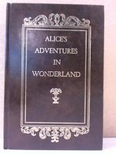 ALICE'S ADVENTURES IN WONDERLAND - HC - 42 ILLUSTRATIONS - Lewis Caroll-AVENEL