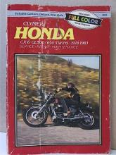 CLYMER SERVICE-REPAIR-MAINTENANCE - HONDA CX & GL500/650 TWINS 1978-1983