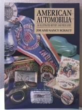 AMERICAN AUTOMOBILIA - Jim & Nancy Schaut - SOFTCOVER - 1994 - ILLUS.