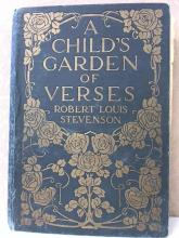 A CHILD'S GARDEN OF VERSES - Robt L. Stevenson - HC - c. early 1900s - ILLUS