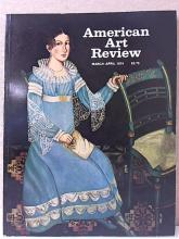 AMERICAN ART REVIEW - Mar-Apr 1974 - ILLUSTRATED - SOFTCOVER