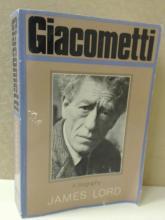 GIACOMETTI, A BIOGRAPHY James Lord