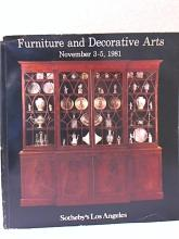 SOTHEBY'S LA - Furniture & Decorative Arts - 1981 - SOFTCOVER - ILLUSTRATED