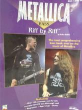 METALLICA BASS RIFF BY RIFF WITH TABLATURE - 1999