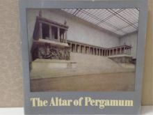 THE ALTAR OF PERGAMUM - STATE MUSEUM BERLIN - HELLENIC GREEK SCULPTURE