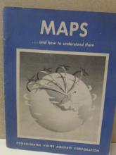 MAPS AND HOW TO UNDERSTAND THEM VINTAGE 1943