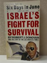 SIX DAYS IN JUNE - ISRAEL'S FIGHT FOR SURVIVAL - LA TIMES - R.A. DONOVAN