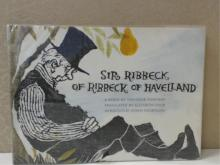SIGNED COPY - SIR RIBBECK OF RIBBECK OF HAVELLAND - THEODORE FONTANE 1969