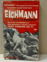 EICHMANN, MAN OF SLAUGHTER - PAPERBACK 1960 by John Donovan