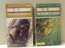 VINTAGE PAPERBACK-EDGAR RICE BURROUGHS TARZAN - First Printing: 1963 & 1964
