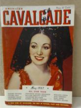 AMERICAN CAVALCADE - VOL.1, NO.1 - MAY 1937 - VINTAGE