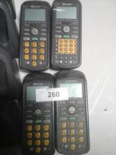 4 Hand Held Products Dolphin Laser Scanners