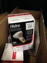 38ct Halco 10100 45w Floodlight, 4ct Halco 9111 50