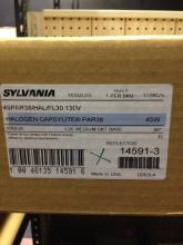 15ct Sylvania 14591-3 Halogen Capsylite Par 38 Flo
