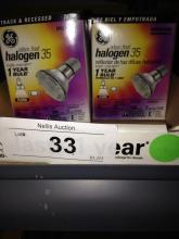 10ct GE 71740 Halogen Flood Bulb Par20 35w