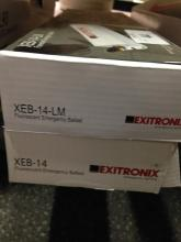 2ct Exitronix XEB-14-LM Fluorescent Emergency Ball