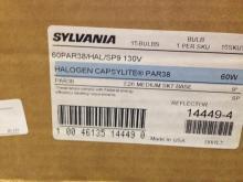 15ct Sylvania 14449-4 Halogen Capsylite Par38 60w