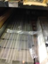 Lot of Clear Shipping Tubes