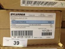 10ct Sylvania 16128-1 Halogen Flood Bulb 60w Par31